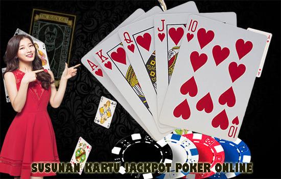 susunan kartu jackpot poker online